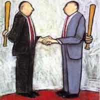 Immagine vignetta su un negoziato