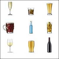 Immagine di alcune bevande alcoliche
