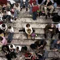 Immagine di isolamento sociale