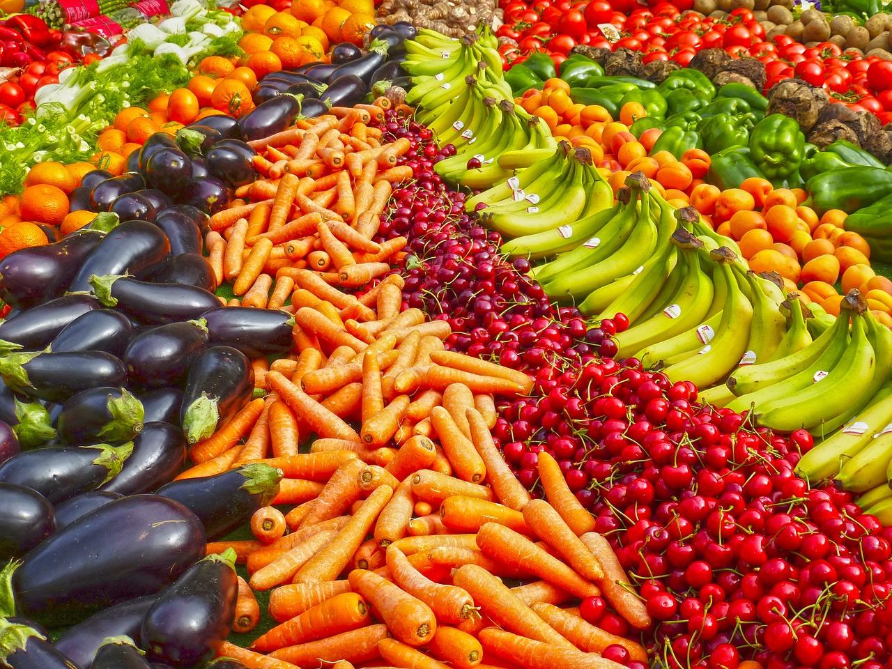 Frutta e verdura crude fanno bene al cervello